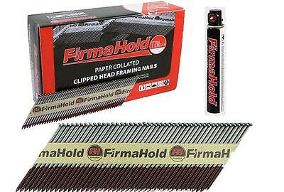 Firmahold Paslode Type First Fix Nails IM350 Galv Ringed 1100 Pack