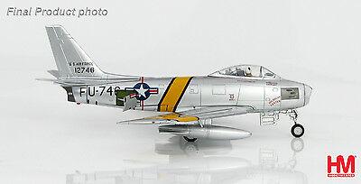 Hobby Master HA4315 1/72 F-86E Sabre FU-746, flown by Col.  Maj. William H. West