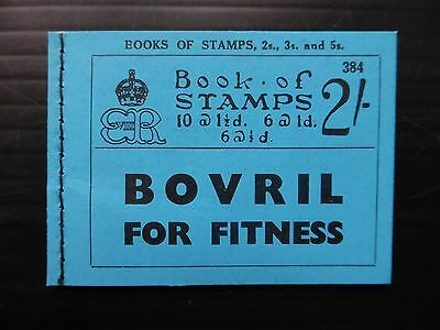 GB 1936 Ed.VIII - 2/- Booklet BC2 Edition 384 Cat £140 SUPERB Condition NB1010