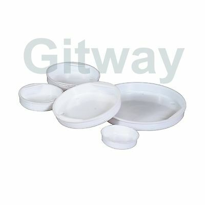 """50 of 2"""" White End Plastic Caps for Cardboard Shipping Mailing Mail Postal Tubes"""