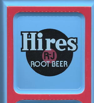 Hires Root Beer ~ Embossed Tin Ad Thermometer *CLASSIC