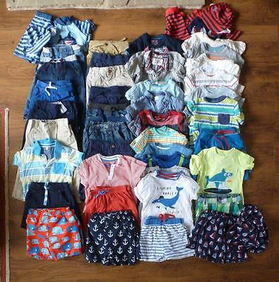 Twin Boys 80+ Piece Clothes Bundle Jojo Maman Bebe - M&S - Nutmeg - 18-24 Months