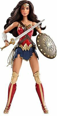 Wonder Woman Doll Barbie DC Superhero Collection Fashion Girls Toy Pretend Play