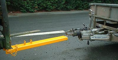Forklift Tow Ball & Pin Attachment - 1200mm Long (110x50mm) Fork £100 + VAT