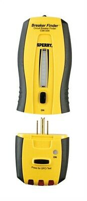 Sperry Breaker Finder Circuit Breaker Tester Yellow and Black LED