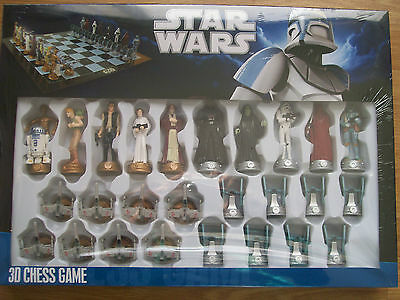 Star Wars Original 3 D Chess Game (New)  In Stock