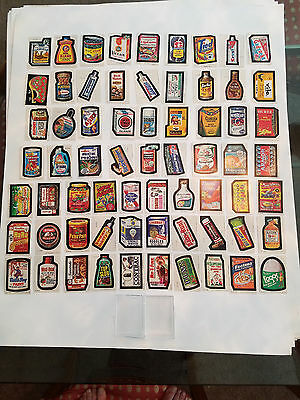 1979 Topps Wacky Packages Complete 66 Card Set Series 1 Condition PSA 10 Cards
