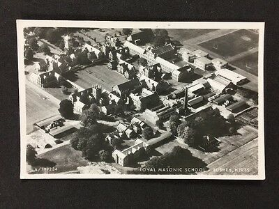 Vintage RP Postcard: Herts: #T2: Royal Masonic School: Bushey: Aerial View