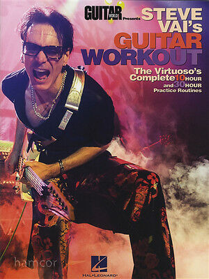Steve Vai's Guitar Workout TAB Book 10 & 30 Hour Practice Routines Guitar World