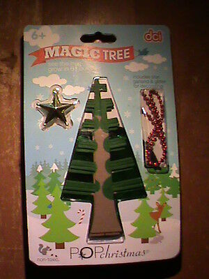 DCI ~Magic grow Christmas Tree (craft) for kids , great stocking stuffier !
