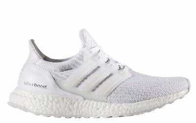 7f139a9a [BA7686] WOMENS ADIDAS Ultraboost 3.0- Triple White Ultra Boost Sneaker