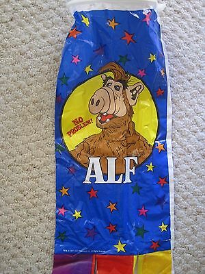 "Vintage 1987 ALF WIndsock Colorful No Problem 40"" Long Spectra Star Kites"