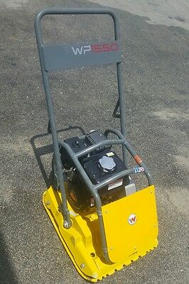 WACKER wp1550 PLATE COMPACTOR VIBRATORY TAMPER wp-1550 free shipping 48 states