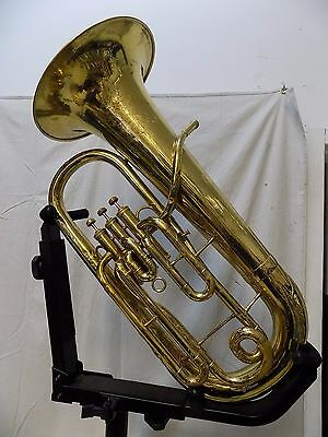 Vintage Frank Holton Chicago Euphonium - Recently Serviced - Serial #11387