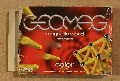 Geomag Magnetic World The Original Colour 42 In Yellow