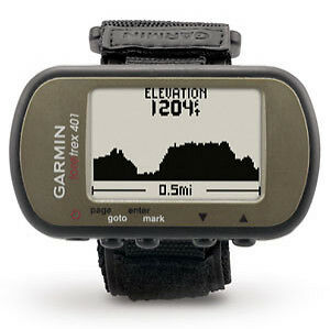 Garmin Foretrex 401 Waterproof Hiking GPS System With Electronic Compass and Alt