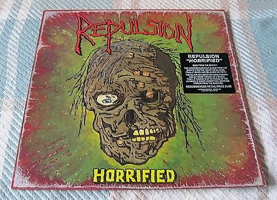 "Repulsion - Horrified - Rare 12"" Vinyl LP With Inner"