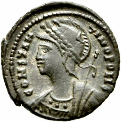 "Nº 21A.extremely Rare Constantinopolis For ""s"" And ""r"" In Victory.alejandria."