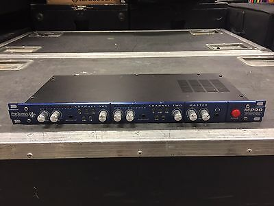 Presonus MP20 2-channel Mic Preamp Microphone with Stereo Bus