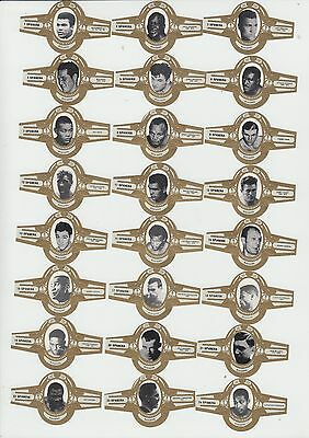 Boxing : Famous Boxers : complete Spanera cigar band set