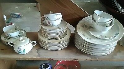 45 piece set 1952 Easterling Radiance dinnerset made in Bavaria Germany