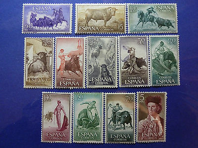 Lot 5182 Timbres Stamp Tauromachie Espagne Spain Annee 1960