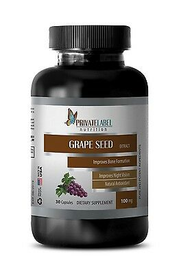Antioxidant booster GRAPE SEED EXTRACT 100mg immune support chinese 1 Bottle