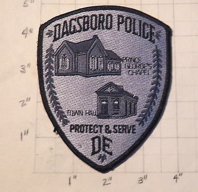 Dagsboro (DE) Police Department Patch                   ***NEW***