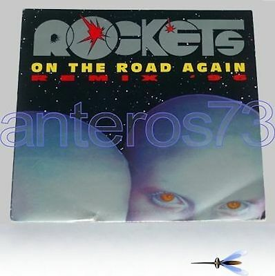 """Rockets """"on The Road Again Remix 96"""" Rare 12"""" 1996"""