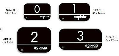 NEW 4 Pk Apixia PSP Phosphor Plate Works w/ ScanX / Air Techniques & Others