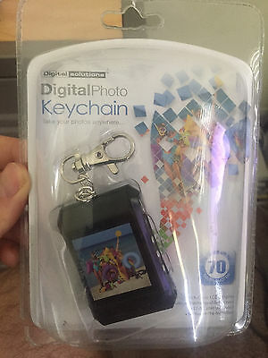 "Digital Solutions Digital Photo Keychain. 1.5"" LCD display. UPC: 049022480360"