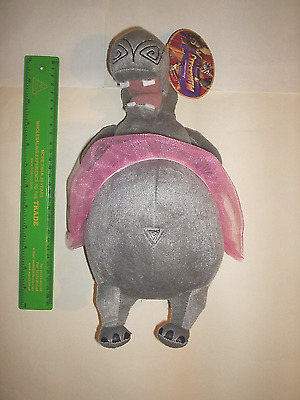 Madagascar 3  Soft Toy  Gloria Hippo New With Tags.