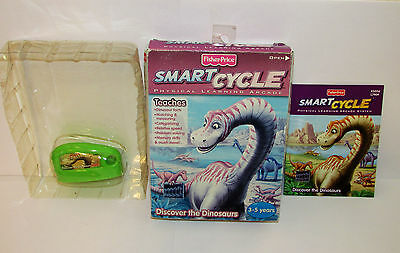 Fisher Price Smart Cycle Discover the Dinosaurs Game Cartridge w/ Box