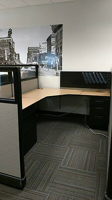 Herman Miller Cubicles  6x8 Work Station Customizable Office Cubicle, Cubical