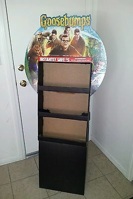 Goosebumps Retail DVD Movie Display RARE!! Jack Black Auction Finds 702