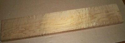 Hades Roasted Maple, 3A Birdseye Strat or Tele Luthier Guitar Neck Blank