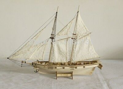 Wooden Model Ship Kits Scale 1/100 HALCON 1840 sail boat wooden FREE SHIP