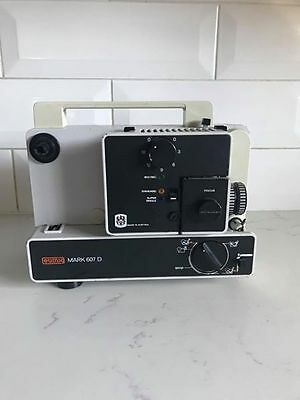 EUMIG MARK 607D 8mm Projector SPARE PARTS Vintage 1970s film Collectable Antique