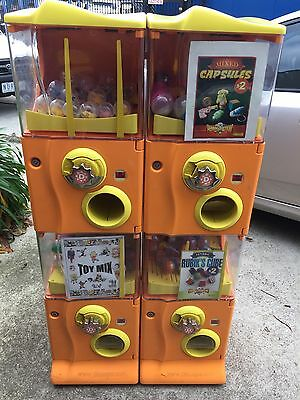 4 Compartment Capsule Toy vending machine