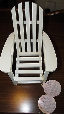 Brass Button Bears Collectables Legendary Collection Chair 1997 with Tags - Rare