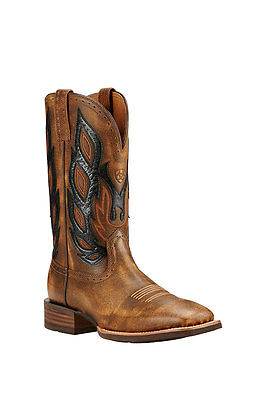 NEW Men's Ariat Nighthawk Vintage Square Toe Leather Boot #10018687