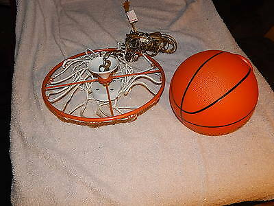 Vintage Swag Basketball  Hanging Ceiling Lamp Ball Man Cave Retro