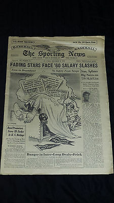 The Sporting News 1959, December 9, Willie Mays