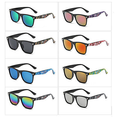 Hindfield Kids Sunglasses Ultraviolet-proof Boys Girls Brand Sunglasses E OP