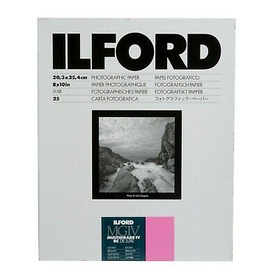 New Ilford Multigrade IV RC Deluxe Resin Coated VC Variable Contrast Black & Whi
