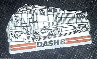 Vintage Railroad Magnet - DASH 8 Copyright MCL Made in U.S.A.