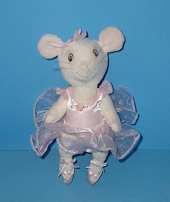 American-Girl-Angelina-Ballerina-Articulated-Jointed-Posable-Mouse-Plush-9-034-
