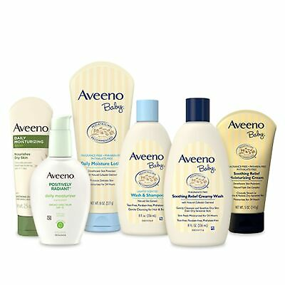 Brand New Aveeno Baby Mommy & Me Gift Set, Baby Skin Care Products