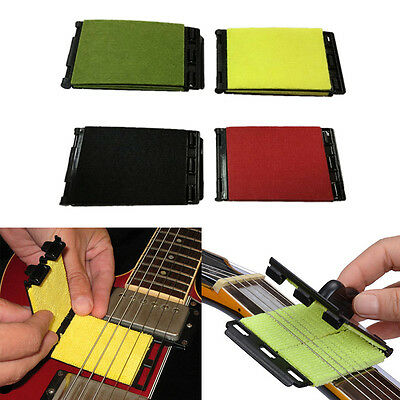 Guitar Bass Strings Scrubber Cleaning Electric Instrument Body Care Cleaner G2H