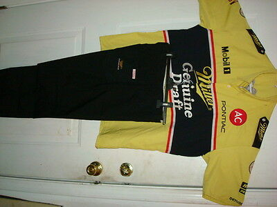 Rusty Wallace Miller Genuine Nascar Winston Cup Simpson Race Used Worn Pit Crew